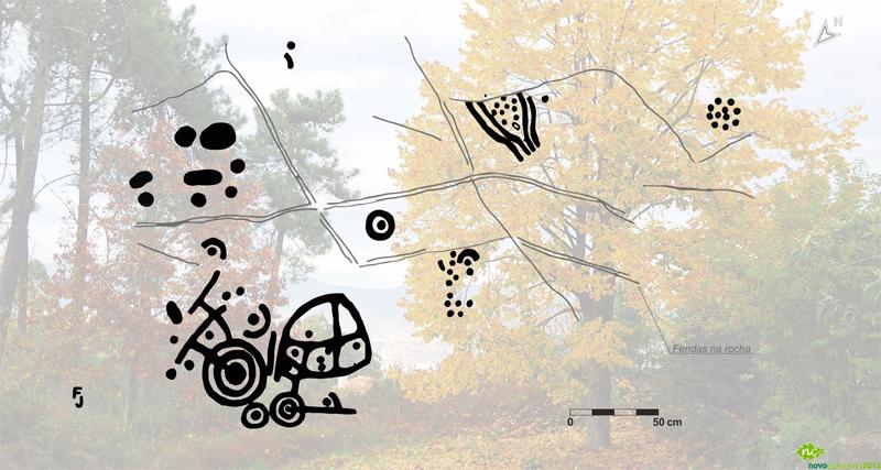 Petroglifo das Millaradas